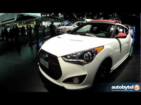 Hyundai Veloster C3 Concept At The LA Auto Show
