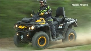1. Essai Can-Am Outlander Max 650 XT-P 2014