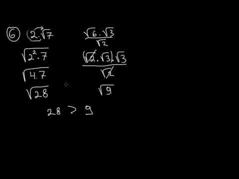 Математика 8 клас. Задачи за квадратен корен