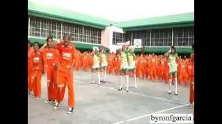 Tù nhân ở Philipines cùng nhảy tập thể :))