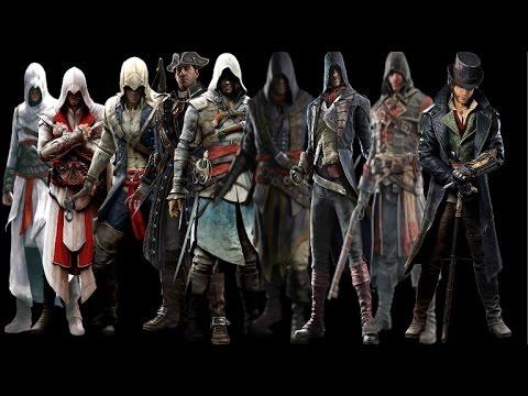 Все литералы Assassin's Creed подряд 2! (HD)