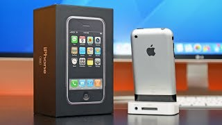 Apple iPhone: Retro Unboxing & Review