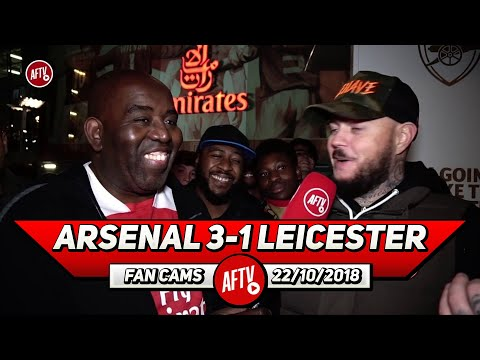 Arsenal 3-1 Leicester City | The Whole Vibe Around The Club Is Different Now! (DT)
