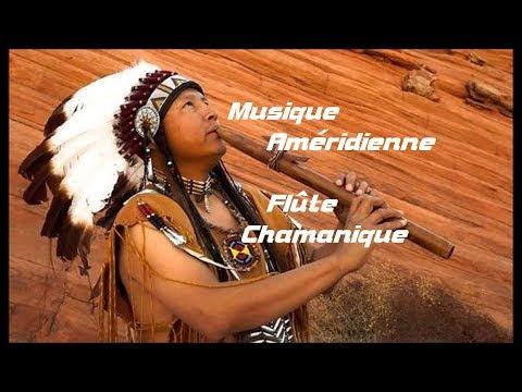 Musique Chamanique des Amérindiens, Flûte et Tambour, Voyage Spirituel