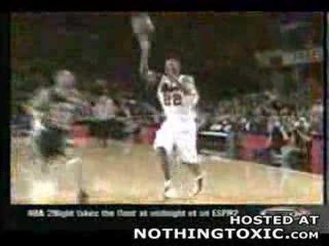 La peor canasta de baloncesto de la historia
