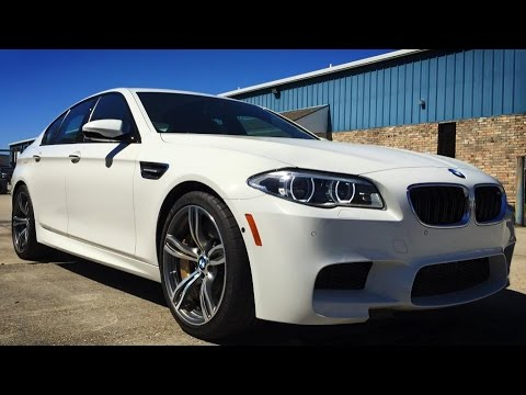 2015 BMW M5 Sedan Full Review, Start Up, Exhaust