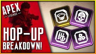 Apex Legends Hop-Up Breakdown! (Turbocharger, Select Fire, Precision Choke, & Skullpiercer)