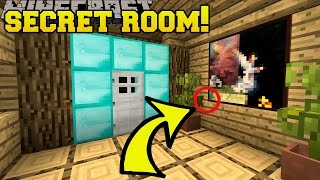 Minecraft: SECRET ROOM!!! - Parcels - Custom Map [3]