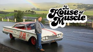 Retro NASCAR-Inspired 1960 Ford Starliner - The House Of Muscle Ep. 6 by Motor Trend