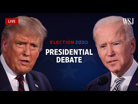 Full Debate: President Trump and Joe Biden Square Off for Final Time Ahead of Election | WSJ