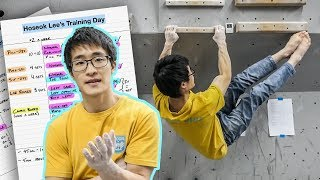 How he got so good, so fast - Hoseok Lee's climbing training routine revealed by Bouldering Vlog