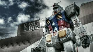 Life-size GUNDAM returned to Odaiba. The exterior has finished.