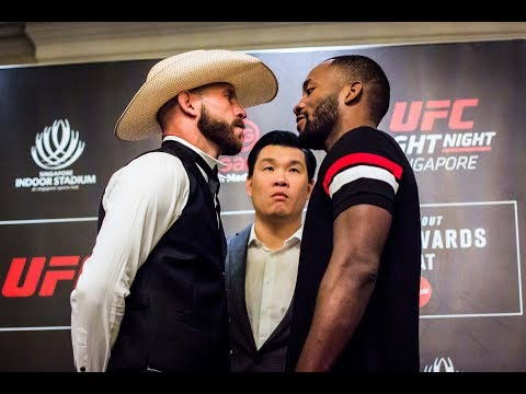 UFC Singapura: Todas as encaradas do Media Day