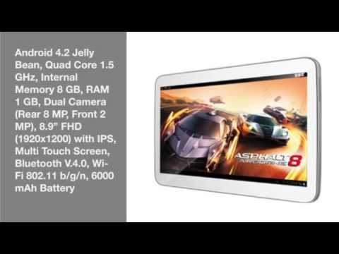 Advan Vandroid T3X, Tablet 8,9 Inch Quad Core