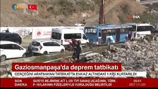 Gaziosmanpaşa'da Deprem Tatbikatı - Ntv