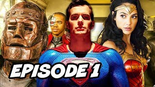 Doom Patrol Episode 1 Opening Scene and Justice League Titans Easter Eggs Breakdown