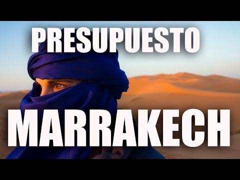¿Cuánto cuesta un viaje de 7 días a Marrakech? Presupuesto Marrakech