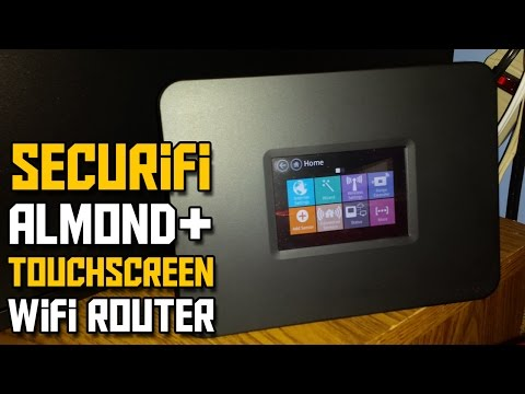 Securifi Almond+ Router Unboxing - TOUCH SCREEN ROUTER?