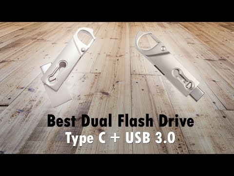 Best Dual Flash Drive Type C & USB 3.0