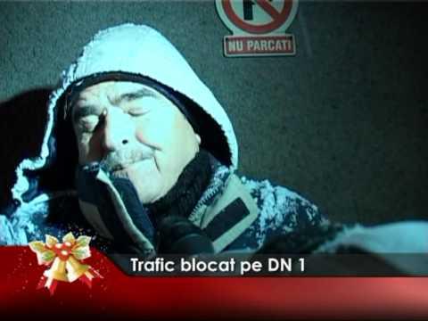 Trafic blocat pe DN1