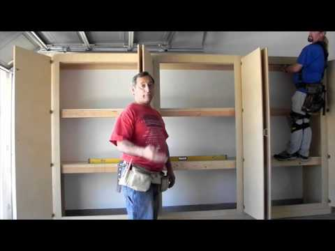 Garage Storage Cupboards UK Designs