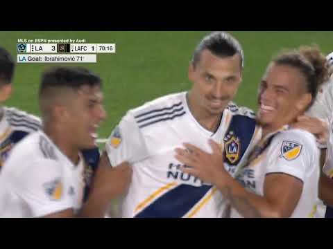 Video: GOAL: Zlatan Ibrahimovic completes his hat trick with another against LAFC