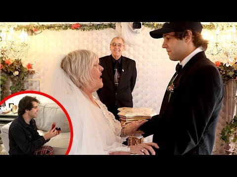 I MARRIED MY BEST FRIENDS MOM!! (PROPOSAL)
