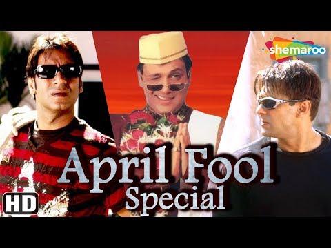 April Fool Special [HD] Bollywood Comedy Scenes - Salman Khan   Ajay Devgan   Govinda   Amitabh