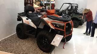 6. Kymco MXU 700i Intermot 2018