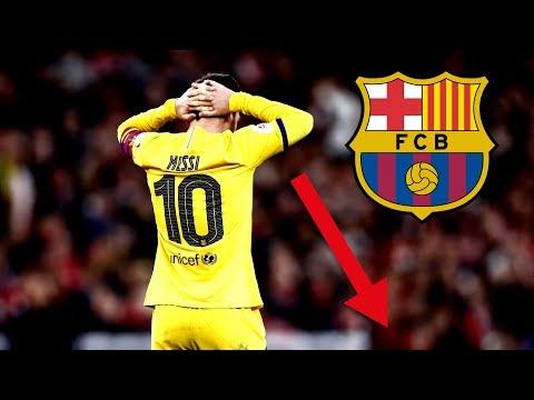 Messi's schlechtestes Spiel seit 10 Jahren..