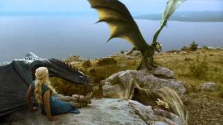 Daenerys realises she is losing control of her three dragons. GAME OF THRONES: Season 4 Episode #1 ' Two Swords' (S04 ...