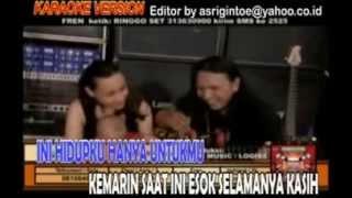 BOOMERANG Seumur Hidup Karaoke original clip + lyric   YouTube