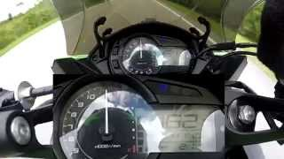 5. 2012 Ninja 1000 Top Speed!