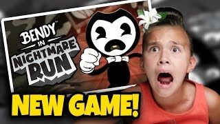 BENDY NIGHTMARE RUN - BENDY BOSS BATTLE!!! New Bendy Game to Give You Nightmares!