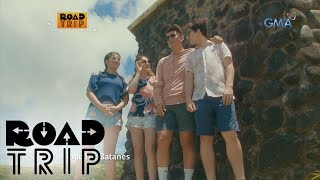 Aired (July 23, 2017): Join the Legaspi family as they travel North to visit the beautiful island of Batanes.Watch 'Road Trip' every Sunday after GMA Blockbusters. Subscribe to us!http://www.youtube.com/user/GMAPublicAffairs?sub_confirmation=1Find your favorite GMA Public Affairs and GMA News TV shows online!http://www.gmanews.tv/publicaffairshttp://www.gmanews.tv/newstv