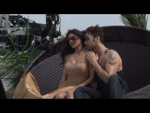 On Location Of Film 'Ishq Click' With Adhyayan Suman