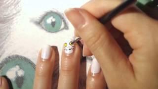 ♥ Lovely Cat's Nail Art ♥ 貓貓指甲彩繪 ♥