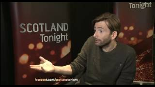 David Tennant Interview On Mad To Be Normal