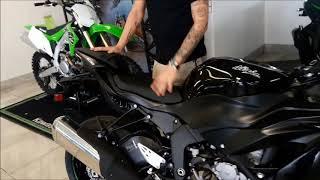 2. Kyle reviews the all new 2019 Kawasaki Ninja ZX 6R