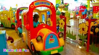 Naik Odong Odong Kereta Api Anak Lucu Mainan Anak di Mall Thomas & Teman Robo Kids Fun Kiddie Rides