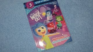 A Read Out Loud Book: INSIDE OUT MOVIE ~ Welcome to headquarters