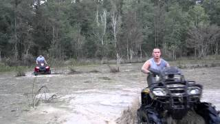 10. 2008 Can-am Outlander 800 and 2012 Polaris 400HO