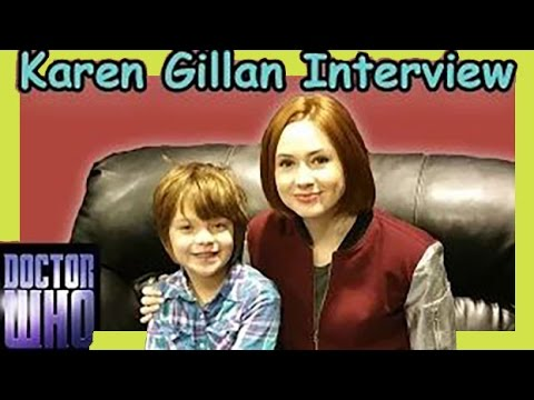 Doctor Who's Karen Gillan Talks to 9-Year Old Interviewer at Denver Comic Con