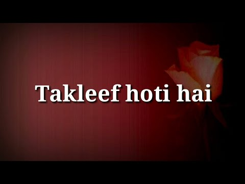 Sad quotes - Very Heart touching video  Best Hindi sad shayari  Hindi heart touching quotes