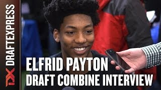 Elfrid Payton Draft Combine Interview