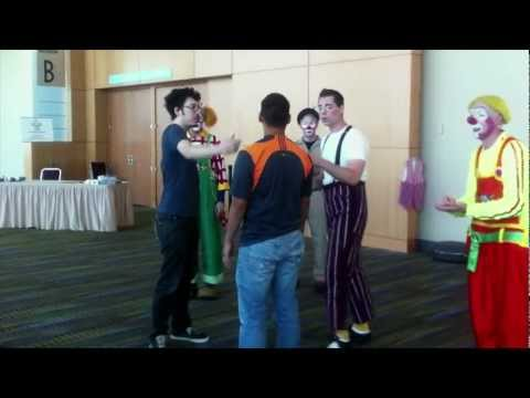 DMC Theater geht Clown College