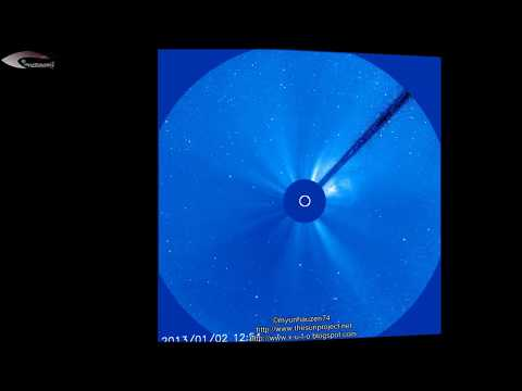 Anomalies and UFOs near the Sun – NASA hiding for January 2, 2013.