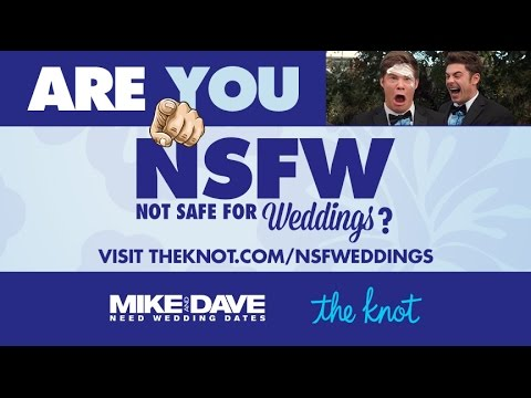 Mike and Dave Need Wedding Dates (Viral Clip 'NSFWeddings')