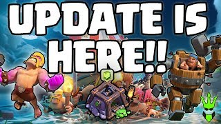 Video UPDATE IS HERE!! - MASSIVE BOAT UPDATE COVERAGE - Clash of Clans - NEW VERSUS MODE AND MORE! MP3, 3GP, MP4, WEBM, AVI, FLV Mei 2017