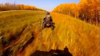 10. 2012 Polaris Sportsman 500HO and 2009 Can-Am 800r at the North Star trail